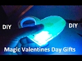 DIY Magic LED Heart Gifts for Mothers Day, Birthday Gift, Wedding Flowers or Valentines Day