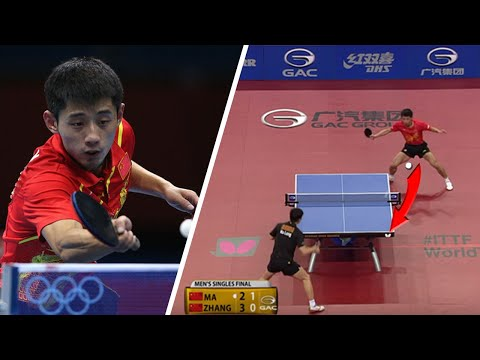 Zhang Jike- Road To The Top (Best Points) [HD]