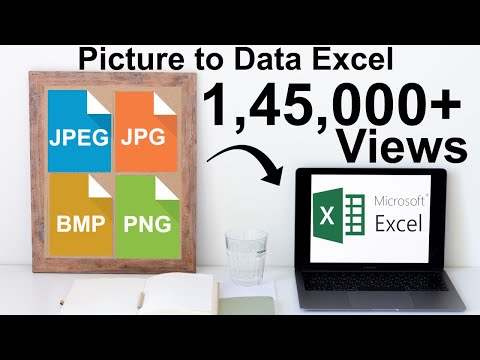 How To Convert JPG Or JPEG Data (Picture) To Excel In 3 Easy Steps 2019