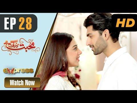 Mohabbat Zindagi Hai - Episode 28 - Express Entertainment Dramas