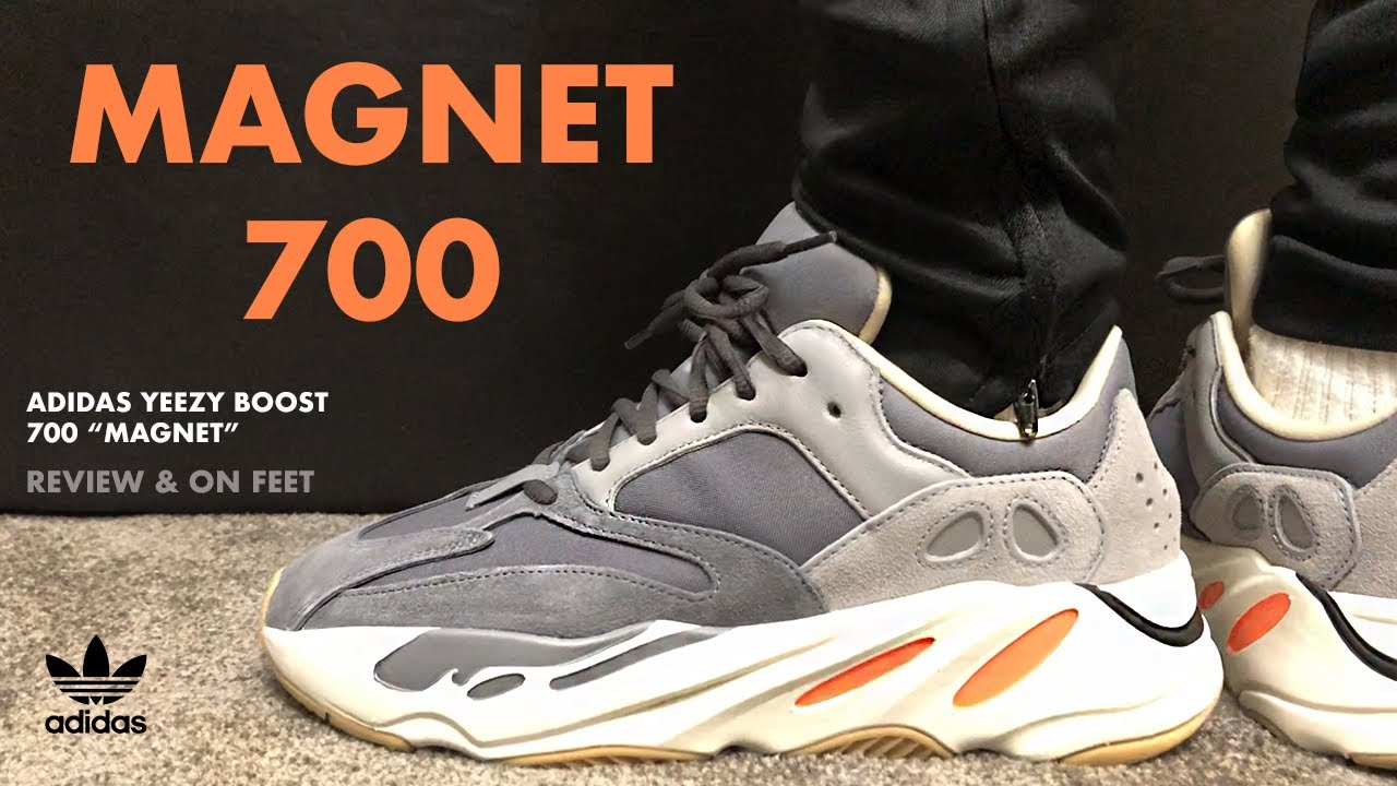 Adidas Yeezy Boost 700 Magnet Review and On Feet