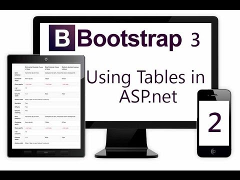Using BootStrap 3 Table in ASP NET - Part 2