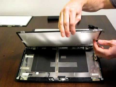 Laptop screen replacement / How to replace laptop screen [Thinkpad Edge  E420 Screen Replacement]