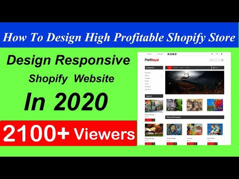 How to Customize Shopify theme Step by Step || Customize Shopify Store 2019 urdu , Hindi