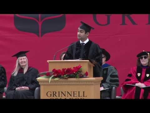 Kumail Nanjiani '01, Commencement Address - 2017 Commencement