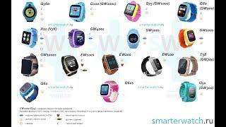 видео ТОП 8: умные часы с GPS трекером для детей 2017
