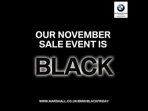 Marshall Bmw Black Friday Event Youtube