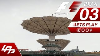 F1 2014 COOP Part 3 - Malaysia Training/Qualifying (FullHD) / Lets Play Together F1 2014