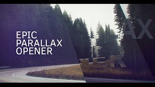 Epic Parallax Opener — After Effects project | Videohive template