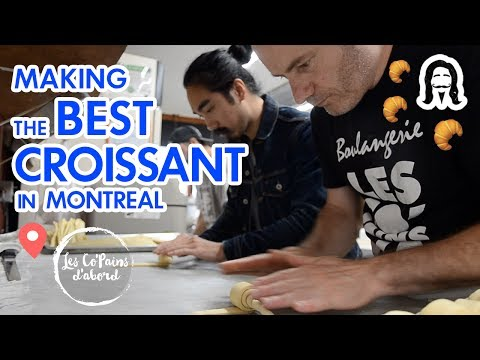 Making The Best Croissant In Montreal | Les Co'Pains D'abords Rachel