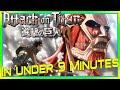 Attack on Titan Season 1 Recap. What Happened in Attack on Titan Season 1?