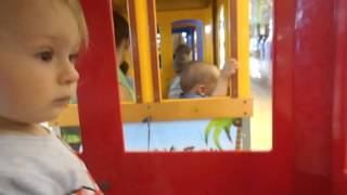 Катаемся на паровозике ТРЦ Экватор Ровно