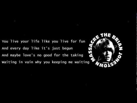 If love is the Drug, then I want to OD - The Brian Jonestown Massacre