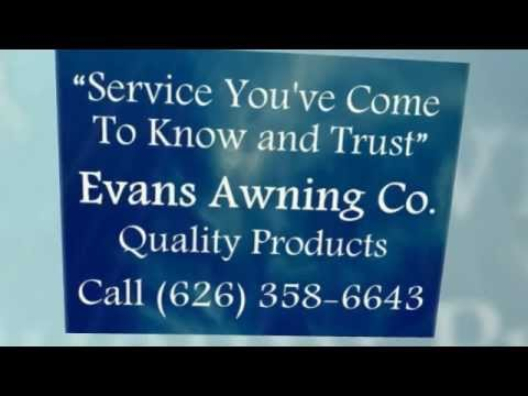 Evans Awning Co., Aluminum Patio Canvas Awnings in ...