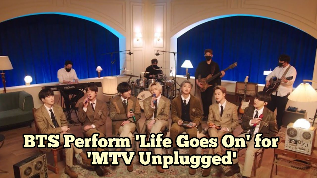 Download BTS Perform 'Life Goes On' for 'MTV Unplugged': Exclusive Sneak Peek