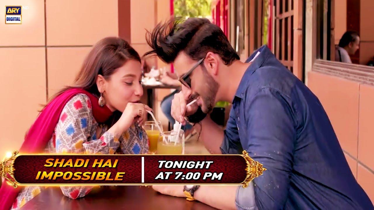 Shaadi Hai Impossible  Eid Telefilm | Agha Ali & Hina Altaf | Tonight at 9:00 pm only on ARY Dig