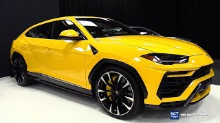 2019 Lamborghini Urus - Exterior and Interior Walkaround - Debut at 2019 Montreal Auto Show
