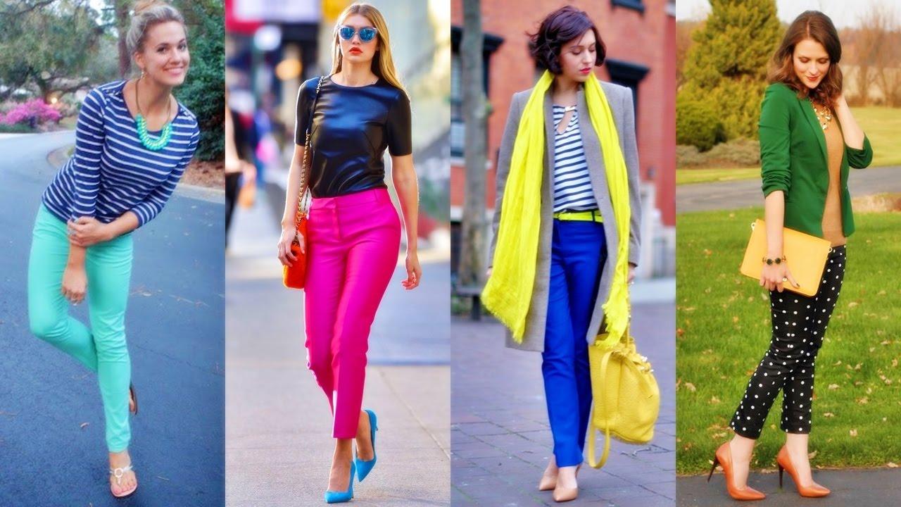 Hermosos outfits de moda con jeans colores de temporada - Colores de moda ...