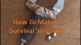 How To Make A Survival Rambone Slingshot Design By Joerg Sprave