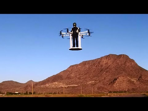 Hero Flyer Manned Drone 01