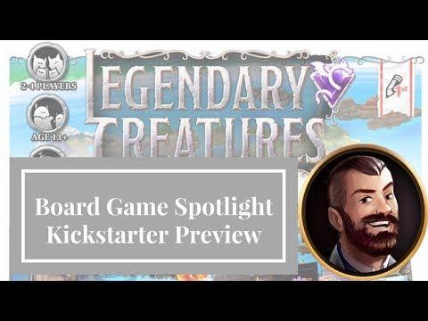 Legendary Creatures - Board Game Spotlight