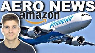 Die FRACHTFLUGZEUGE von AMAZON! AeroNews