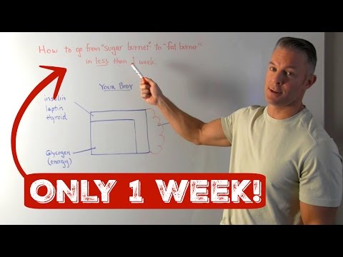 "How to go from ""sugar burner"" to ""fat burner"" in less than 1 week with strategic carb manipulation…"