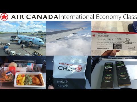 Air Canada: Paris Charles De Gaulle to Montreal Trudeau