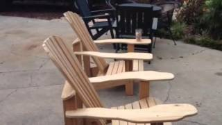 I Built Adirondack Chairs