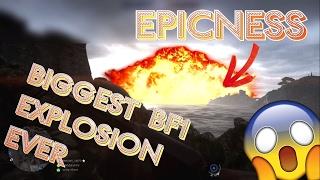 BIGGEST BATTLEFIELD ONE EXPLOSION EVER !! - Funtage//Délire avec The Absolute Z3R0