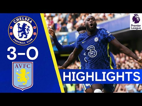 Chelsea 3-0 Aston Villa |  Lukaku scores twice on return to Stamford Bridge🔥 |  Reflexes