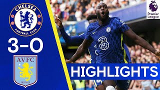 Chelsea 3-0 Aston Villa | Lukaku nets twice on his Stamford Bridge return