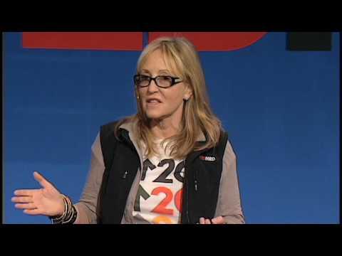 Laura Ziskin with Dave Stewart at TEDMED 2009