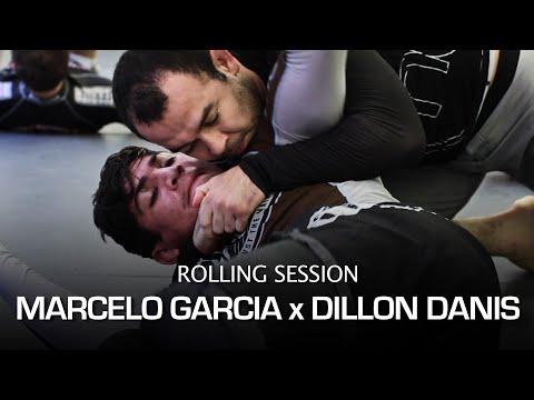 Marcelo Garcia and Dillon Danis No Gi Rolling