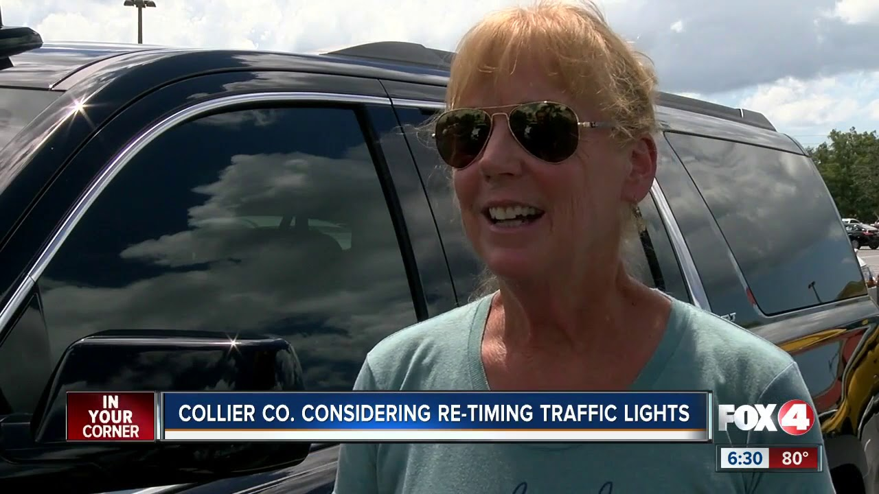 Collier Working On Reducing Delay At Red Lights Youtube In Car