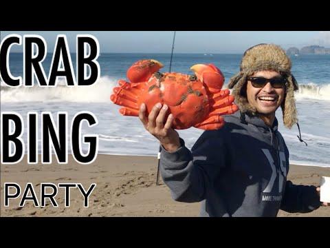 Birthday Crabbing | Baker Beach San Francisco, CA