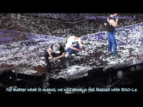 [ENG SUB] 150612 EXO'Luxion Taipei Ending Ment