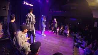 BeFree Final ALL STYLES KIDS Bboy Lil Gold vs Amir