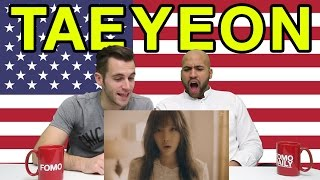 "Americans React To Taeyeon ""11:11"""