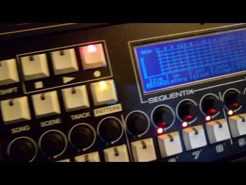 Recording from ableton to the cirklon