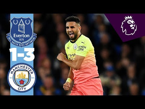HIGHLIGHTS | Everton 1-3 Man City | Jesus, Calvert-Lewin, Mahrez, Sterling
