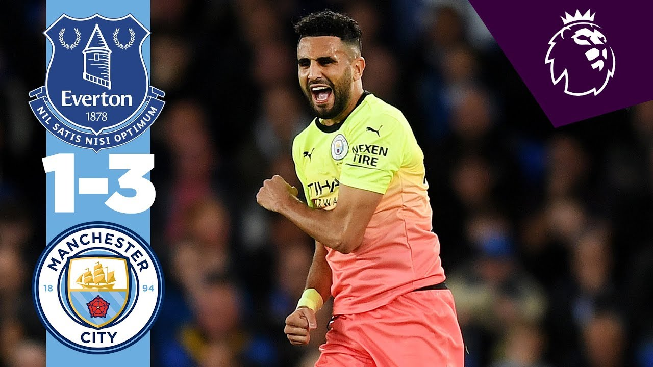 Highlights Everton 1 3 Man City Jesus Calvert Lewin Mahrez Sterling Youtube