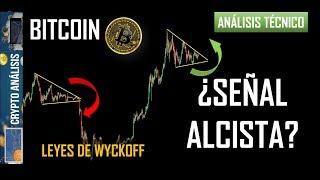 Bitcoin ¿SEÑAL ALCISTA?   Btc/Criptomonedas TRADING ANÁLISIS/NOTICIAS