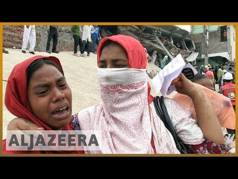🇧🇩 Bangladesh factories still unsafe five years after 1,100 killed in collapse   Al Jazeera English