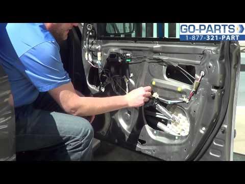 Toyota Highlander 2008 Interior Door Panel Removal Window