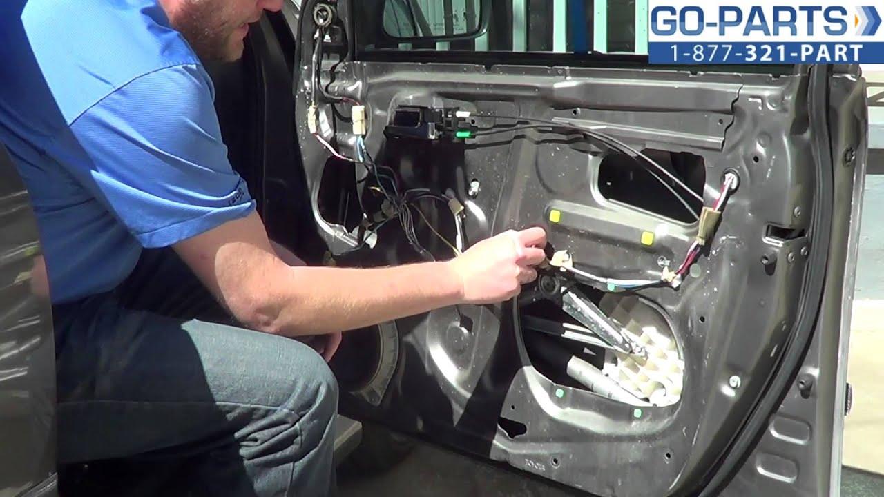 car door lock parts diagram 2016 jeep wrangler subwoofer wiring replace 2003-2008 toyota corolla front power window regulator,how to change install 04 05 06 07 ...