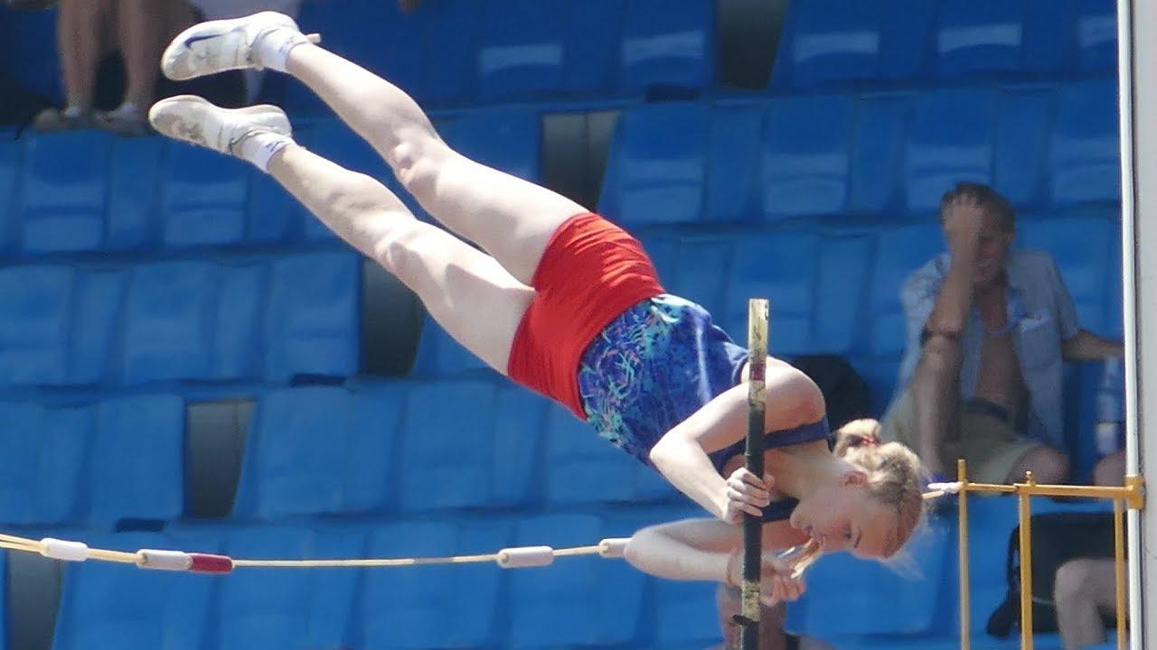 pole vault girls - athletics Russia 2018