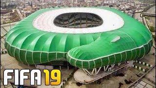 FIFA 19 - PRIMEROS 6 NUEVOS ESTADIOS CONFIRMADOS DEL JUEGO