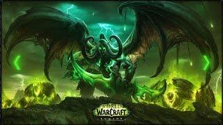 Анимированный рабочий стол с Иллиданом (World of Warcraft: Legion)