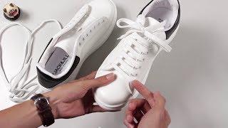 Hướng dẫn buộc dây giày kiểu Alexander McQueen Sneaker